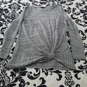 Banana Republic gray shirt